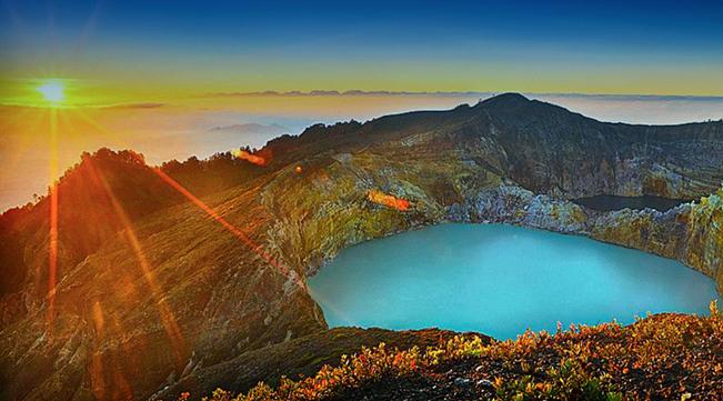 Danau Kawah Kelimutu